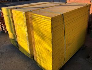 Pannelli gialli da armatura cm 50x100