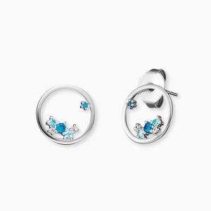 Engelsrufer Orecchini Collezione Cosmo Blu