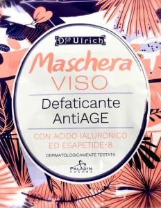 MASCHERA VISO ANTIAGE CON ACIDO IALURONICO - ESAPEPTIDE-8