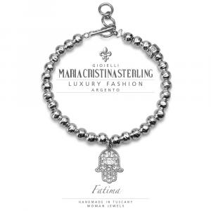 Bracciale Maria Cristina Sterling Collezione Fatima