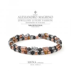 Bracciale Maria Cristina Sterling Collezione Siena