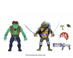 Teenage Mutant Ninja Turtles: Action Figure Animation Series - Wave 3 Leather Head & Slash