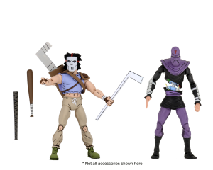 Teenage Mutant Ninja Turtles: Action Figure Animation Series - Wave 3 Casey Jones & Foot Soldier