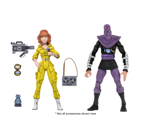 Teenage Mutant Ninja Turtles: Action Figure Animation Series - Wave 3 April O'Neil & Foot Soldier