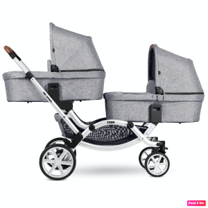 Trio Gemellare Zoom Abc design