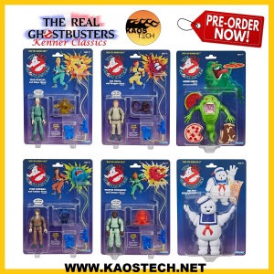 The Real Ghostbusters Kenner Classics - SERIE COMPLETA -