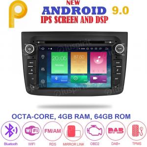 ANDROID 9.0 autoradio navigatore per Alfa Mito 2008-2014 GPS DVD WI-FI Bluetooth MirrorLink