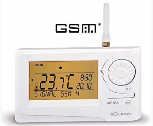 CRONOTERMOSTATO SOLARIS GALAKTICA GSM