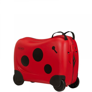 Trolley Kids SAMSONITE DREAM RIDER Coccinella, bagaglio a mano