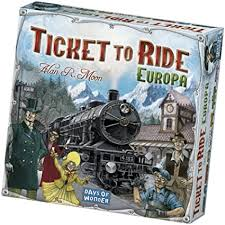 TICKET TO RIDE -EUROPA