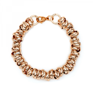 BRACCIALE LUCIDO TWIST LARGE  ROSE'