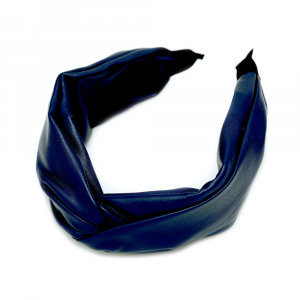 FRONTINO IN VERA PELLE BLUE