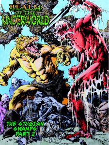 Realm of the Underworld: Minicomic - THE STYGIAN SWAMPS part 2 Zolocon 2020 Exclusive (Zoloworld)