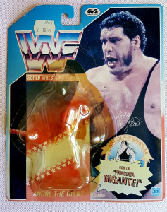 WWF Hasbro Vintage Series: ANDRE' THE GIANT CARD by Hasbro