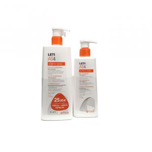 Leti At4 Atopic Skin Body Milk 500ml + Gel At4 250ml