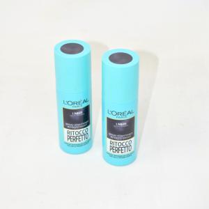 2 Spray Istantaneo Ritocco Radici L'oreal Paris Per I NERI