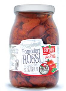 Pomodori rustici a spicchi semisecchi- 1062 ml