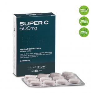 Principium Super C 500 mg La vitamina antiossidante che sostiene le difese dell\u2019organismo
