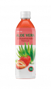 REAL ALOE VERA 500 ML CON SUCCO DI FRAGOLA