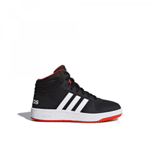 Adidas Hoops Mid 2.0 Black Junior