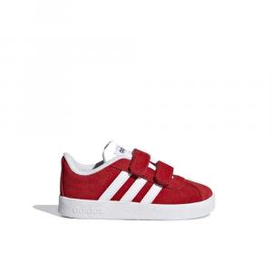 Adidas Vl Court 2.0 Coral Red Junior