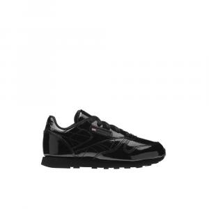 Reebok Leather Patent Black Junior