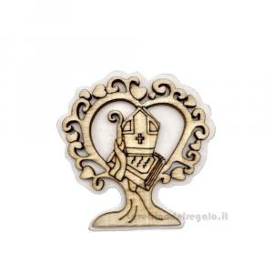 Applicazione Santa Cresima in legno 4.5 cm - Decorazioni cresima
