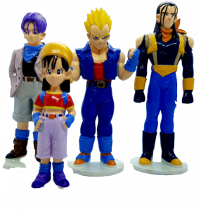 Dragonball (Action Figures) DeA edicola