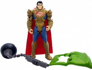 Superman Man of Steel (Action Figure): Superman armored