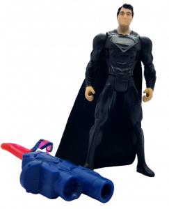 Superman Man of Steel (Action Figure): Superman vista laser