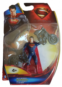 Superman Man of Steel (Action Figure): Superman e la sua moto