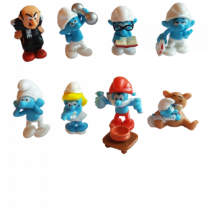 Puffi (serie Kinder) serie completa 2010