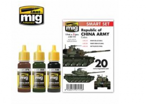 M48H RoCA (Republic of China Army) Paint Set