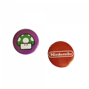 2 Spille (pin) Nintendo