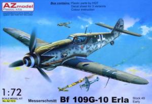 Me-109G-10 Erla early (3x camo)