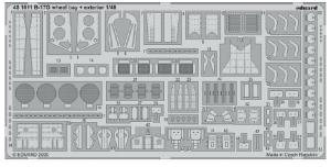 SET B-17G undercarriage & exterior (HKM)