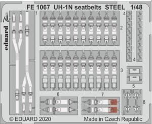 UH-1N seatbelts STEEL (KITTYH)