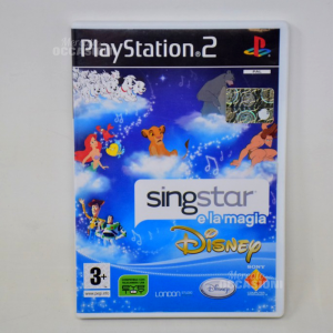 Gioco Play Station 2 Sing Star E La Magia Disney