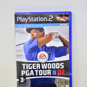 Gioco Play Station 2 Tiger Woods Pga Tpur 07