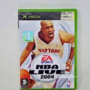 Gioco xbox NBA live 2004