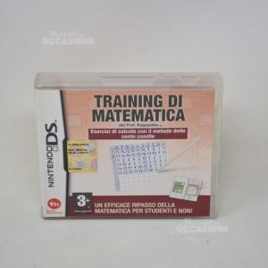 Gioco Nintendo DS training di matematica