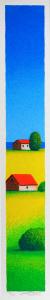 FIORENTINI ARTURO Serigrafia Casolari Formato cm 50x8