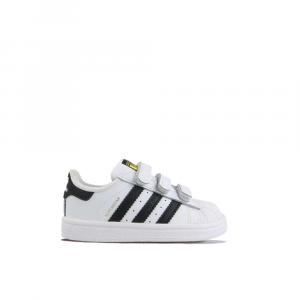 Superstar CF Black White Junior