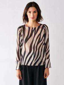 Blusa Rinascimento crepe zebra 17153