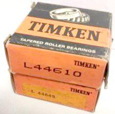 Cuscinetto a rulli conici TIMKEN L44649/L44610,