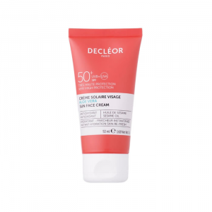 Decleor Sun Face Cream Aloe Vera Spf50 50ml
