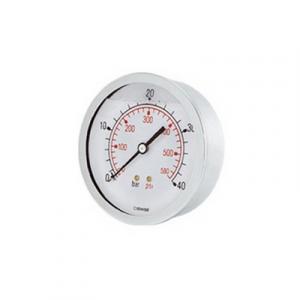 MANOMETRO ATTACCO POSTERIORE DM 50 - 1/4 10 bar