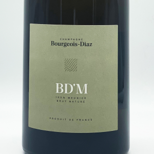 Champagne brut nature BD'M - Bourgeois Diaz