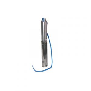 ELETTROPOMPA SOMMERSA PER ACQUE PULITE IN POZZI SERIE GS 4            Kw 1,10  Hp 1,50 Monofase