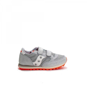 Saucony jazz Baby Grey/Orange Glitter Junior